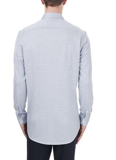 Etro  % 100 Pamuklu Regular Fit Uzun Kollu Gömlek Erkek Gömlek 1K526 3129 0250 Mavi